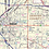 Thumbnail: Greater Denver Metro Area Laminated Wall Map