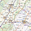 Thumbnail: Virginia Laminated Wall Map