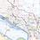 Thumbnail: St. Louis Laminated Wall Map
