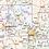 Thumbnail: Alabama Laminated Wall Map