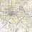 Thumbnail: Greater Columbus Metro Laminated Wall Map