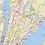 Thumbnail: New York Metro Region Wall Map