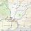 Thumbnail: Washington State Laminated Wall Map