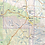 Thumbnail: Arizona Laminated Wall Map