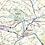 Thumbnail: Greater Philadelphia Metro Area Laminated Wall Map