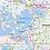 Thumbnail: Twin Cities Metro Area Laminated Wall Map