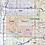 Thumbnail: Greater Detroit Metro Laminated Wall Map