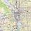 Thumbnail: Greater Portland Oregon Laminated Wall Map