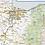 Thumbnail: Oregon Laminated Wall Map