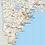Thumbnail: Maine Laminated Wall Map