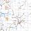 Thumbnail: Pittsburgh and Southwest PA Laminated Wall Map