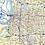 Thumbnail: Memphis Metro Area Laminated Wall Map