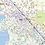 Thumbnail: Columbia SC Laminated Wall Map