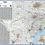 Thumbnail: Texas Laminated Wall Map