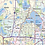 Thumbnail: Twin Cities Metro Area Laminated Wall Map