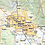 Thumbnail: Arizona Laminated Wall Map