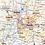 Thumbnail: North Carolina Laminate Wall Map