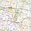 Thumbnail: Missouri Laminated Wall Map