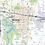 Thumbnail: Kansas City Metro Area Laminated Wall Map