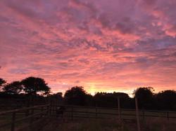 Sunset at Hope Farm
