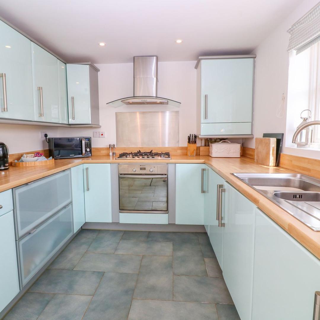Scott's Cottage kitchen