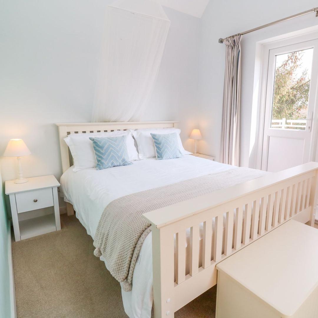 Scott's Cottage master bedroom
