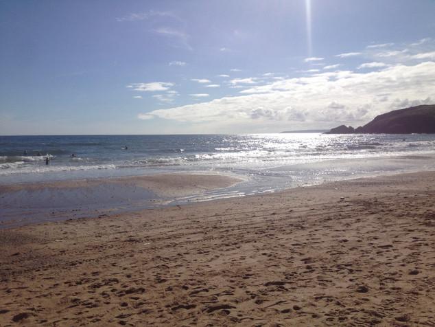 Praa Sands beach.JPG
