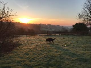Sunrise at Hope Farm