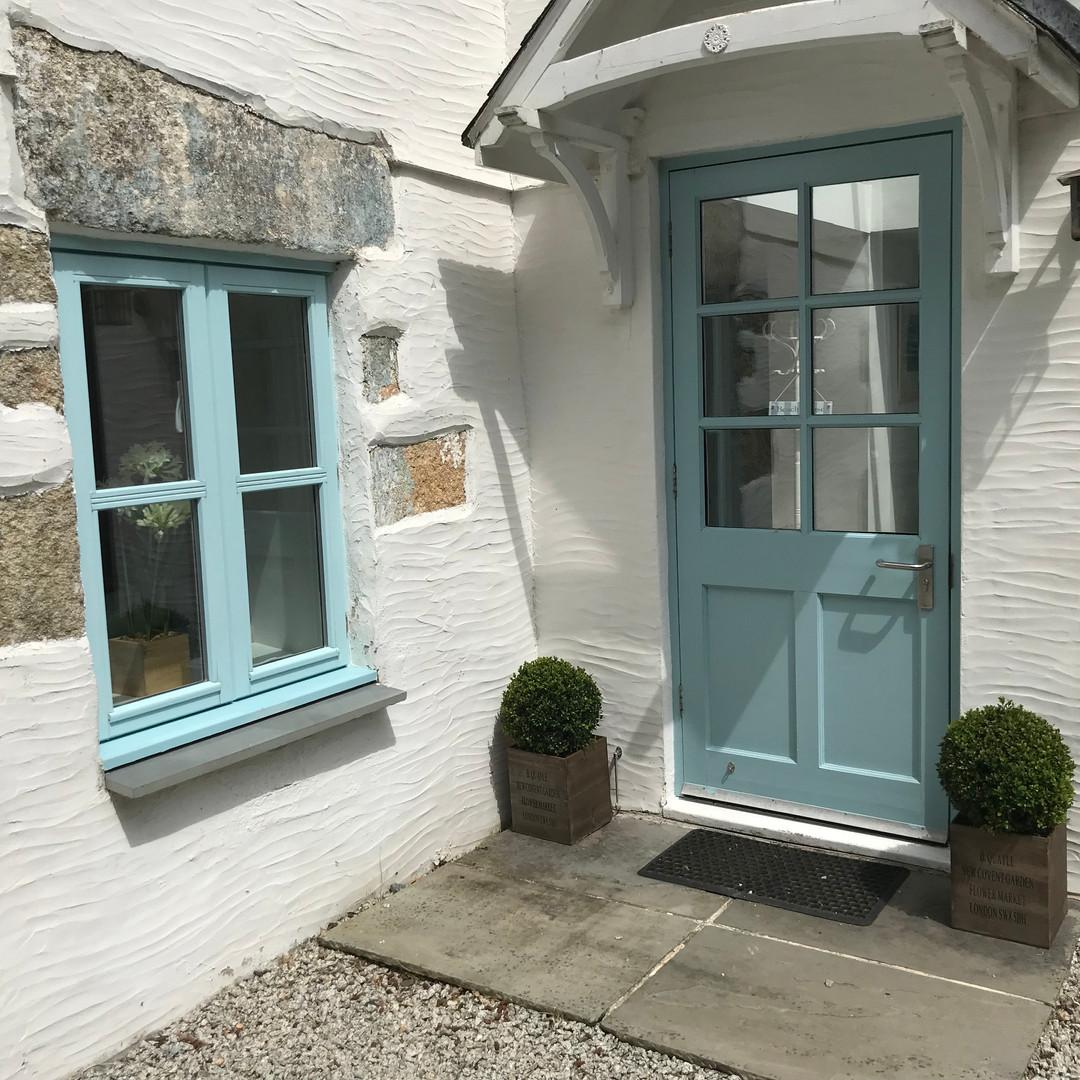 Scott's Cottage entrance