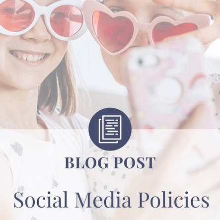 Social Media Policies; A Must Have!