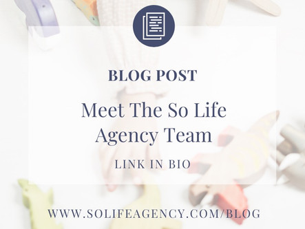 So Life Agency: Meet The Dream Team