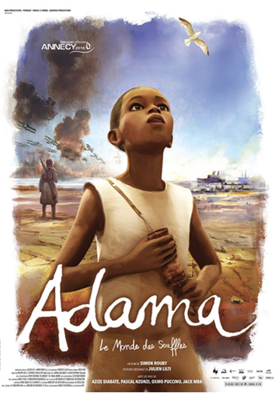 film d'animation ADAMA