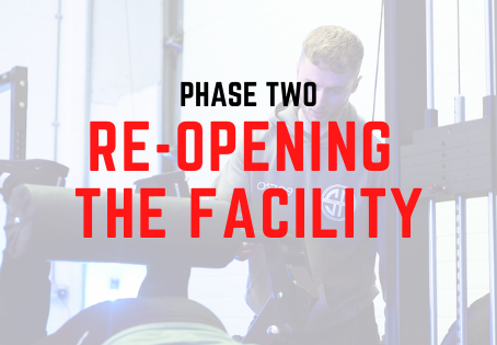 'Phase 2' Re-Opening The Facility