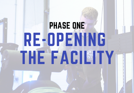 'Phase 1' Re-Opening The Facility