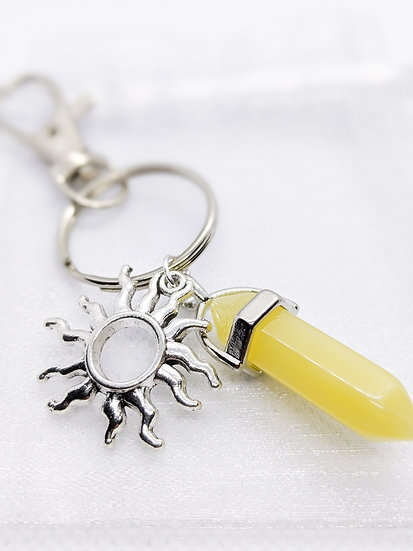 Keyring - Yellow Sun