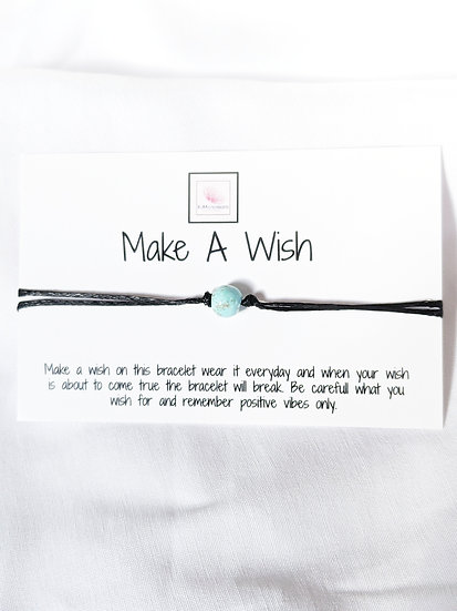 Make a Wish - Turquoise