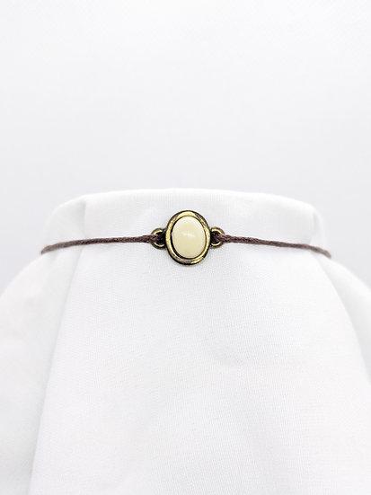 Cream Antique Style Bracelet