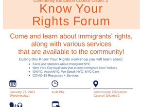 Know Your Rights Forum