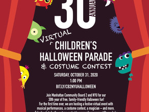 30th Annual (Virtual) Children's Halloween Parade