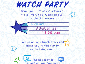 You're Invited! - YPC If You're Out There Video Project Release