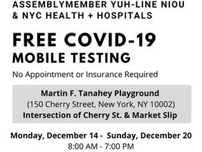 Mobile COVID-19 Testing Site