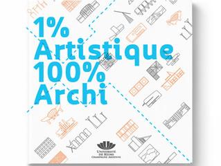 """Presentación del libro""""1 % artistique / 100 % architecture"""" realizado por egresados de la"""