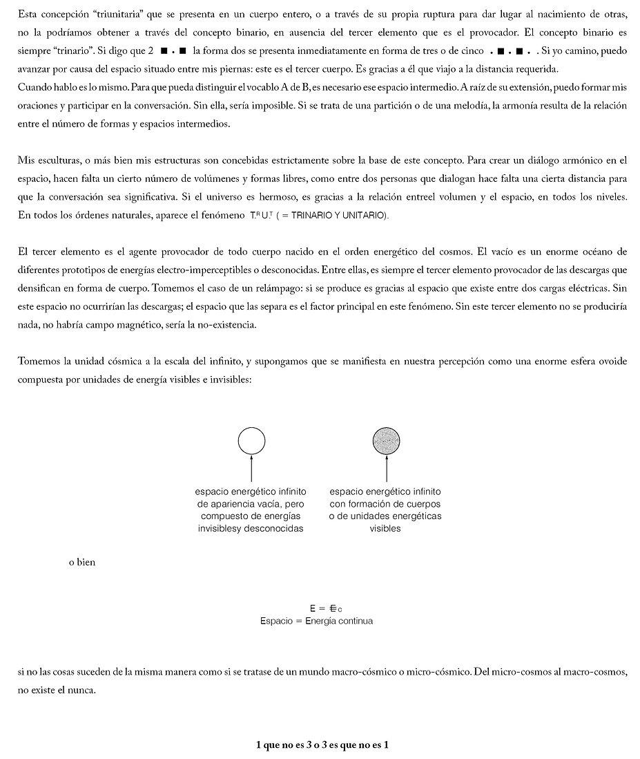 Marino di Teana Théorie tri unitaire 3