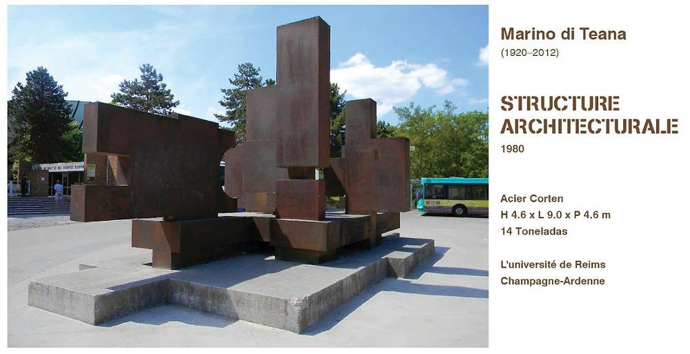 Marino di Teana Architectural Sculpture Reims