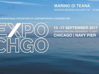 Expo Chicago 2017 - The international exposition of contemporary & modern art. Marino di Teana -