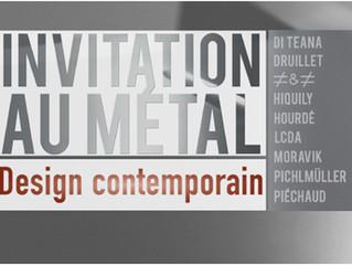Exposición – INVITATION AU MÉTAL – Design Contemporain - Galerie Loft