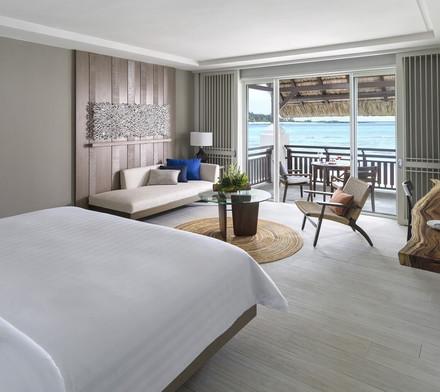Hibiscus Deluxe Ocean View Shangri la Le