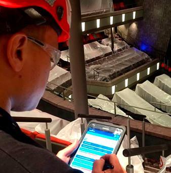 Digital management of the hot works for Meyer Turku