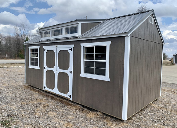 Old Hickory Utility Shed w/ Dormer Package
