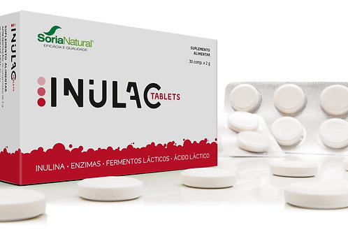 INULAC TABLETS - 30 COMPRIMIDOS - SORIA NATURAL